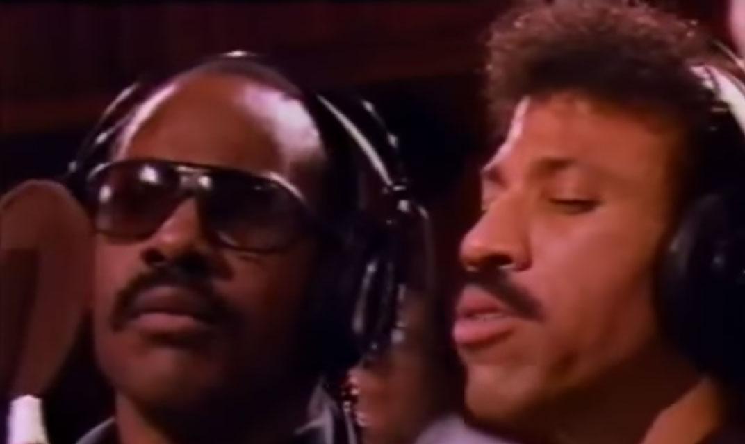 Lionel Richie Stevie Wonder Paul Simon Kenny Rogers James Ingram Tina Turner Billy Joel Michael Jack