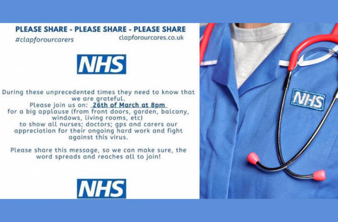 The Nation Salutes Our NHS