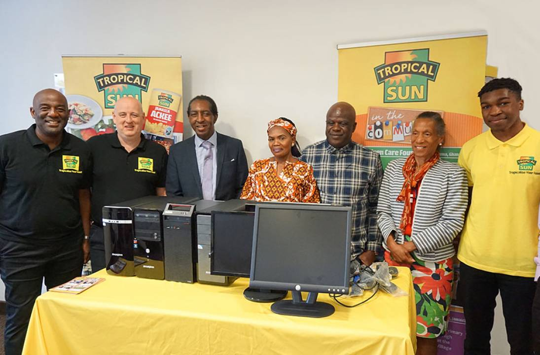 Tropical Sun Commits Further PCs In Support Of Angel Foundation In Jamaica
