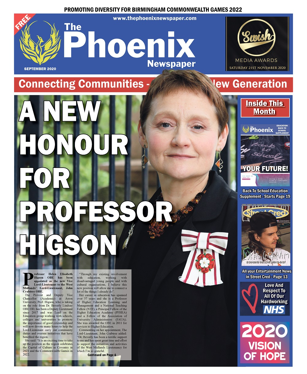 The Phoenix Newspaper – September Edition 2020