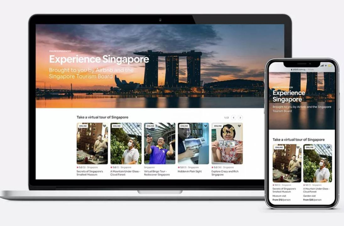 New virtual tours with Airbnb Experiences Singapore Tourism Board and Airbnb Experiences