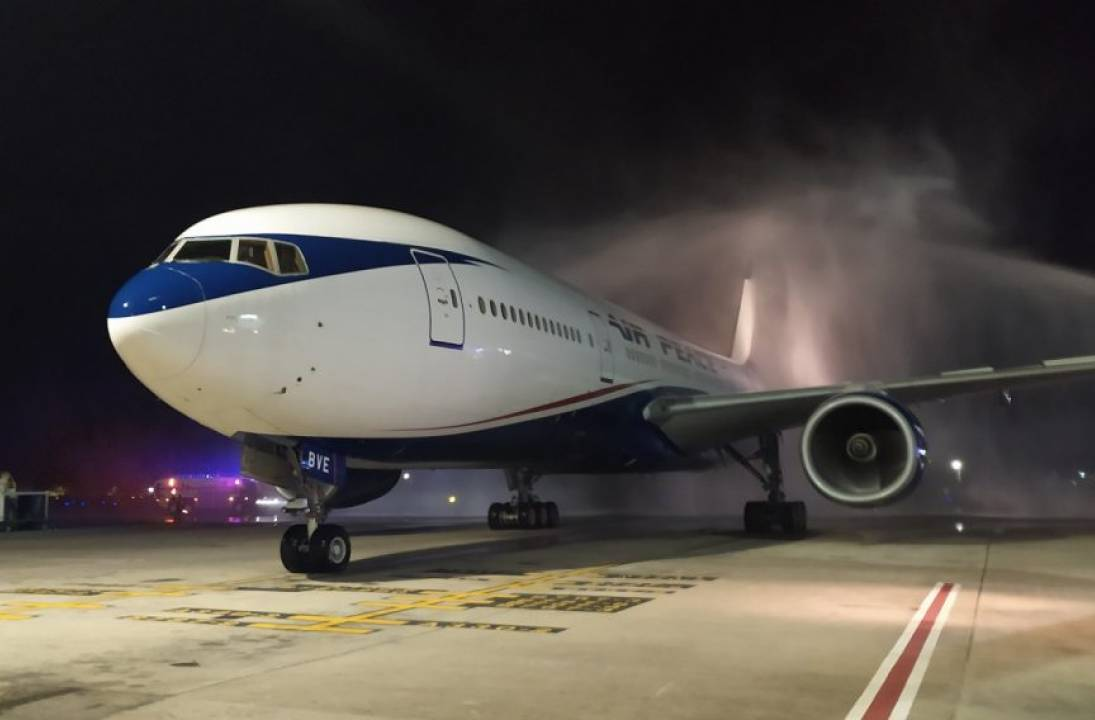 First nonstop flight from Nigeria lands in Jamaica