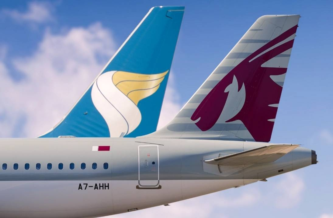Qatar and Oman airlines agree code-share expansion as part of strengthening strategic cooperation