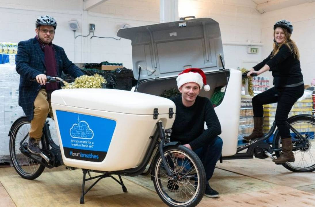 City Council received its first batch of e-cargo bikes