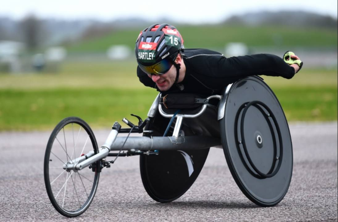 Weir and Woods triumphant at Müller Wheelchair Marathon