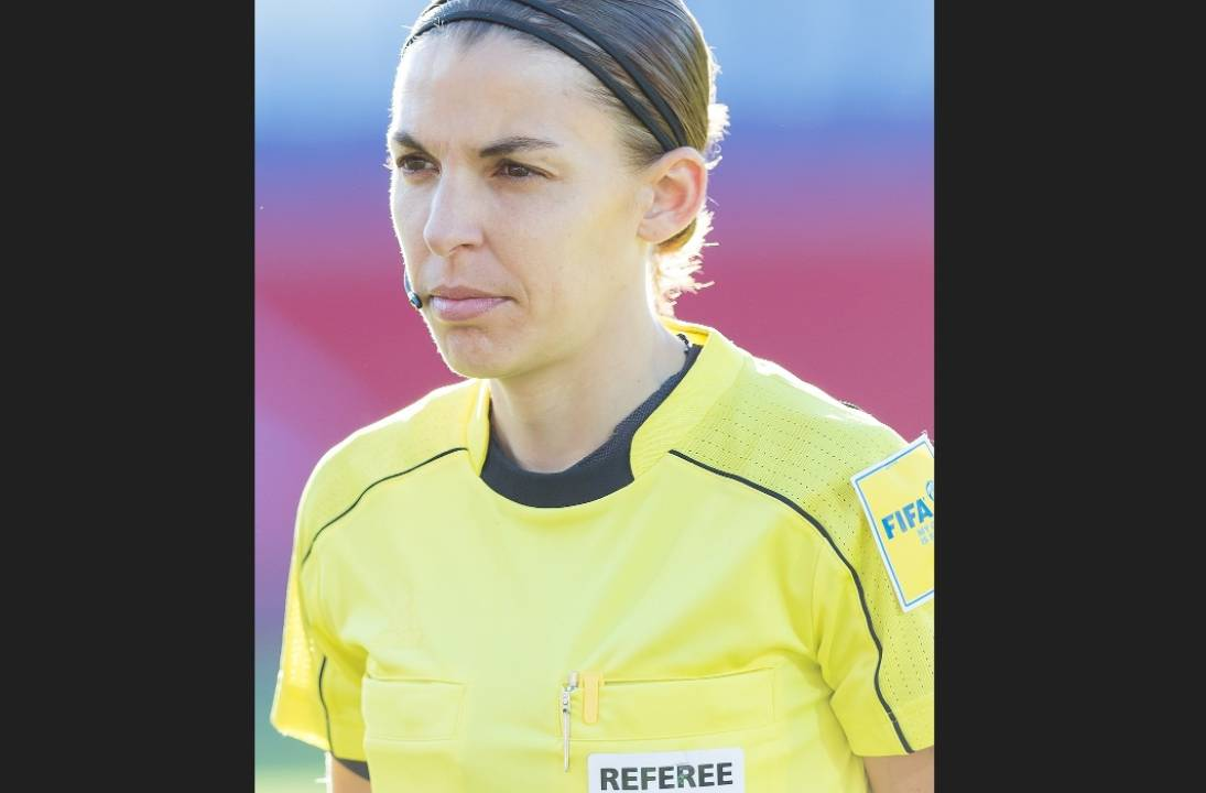 Stephanie Frappart becomes first woman to referee a men's Champions League game