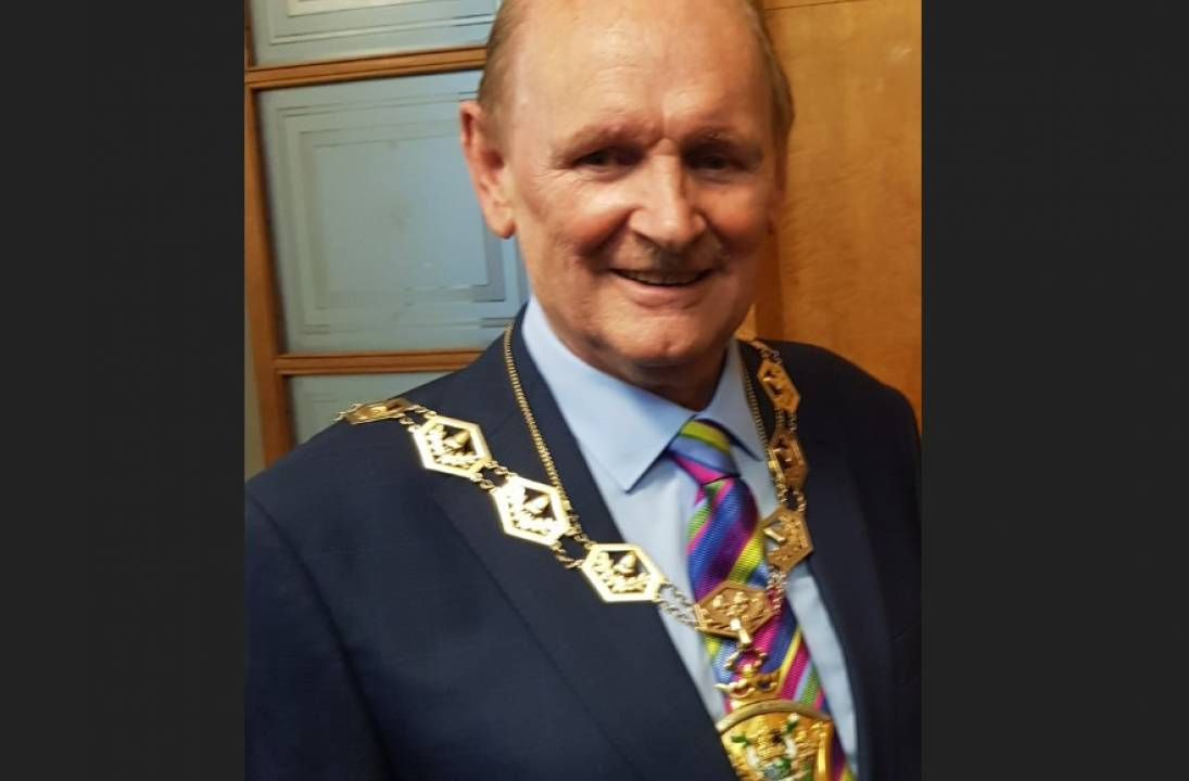 London Borough mourns passing of its Mayor, Chris Robbins CBE