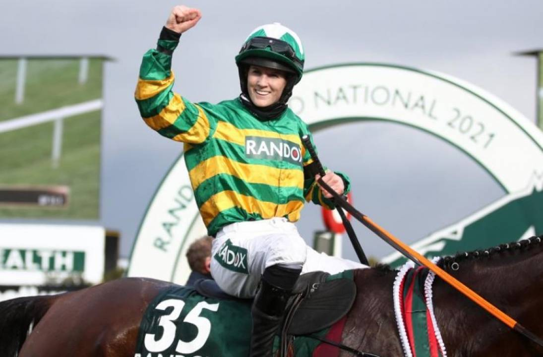 Record-breaking Rachael Blackmore a winner in Grand National