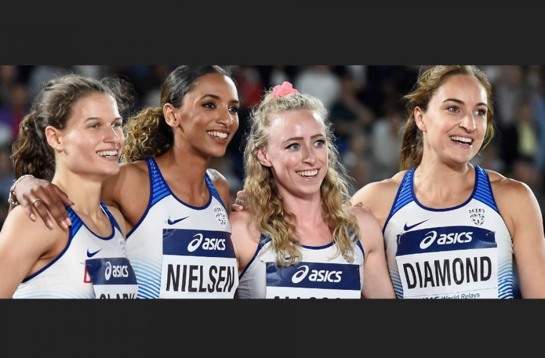 British 4x400m teams selected for 2021 World Athletics Relays