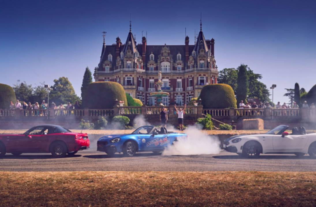 £500 million of classic cars, supercars and hypercars heading for Chateau Impney Hill Climb