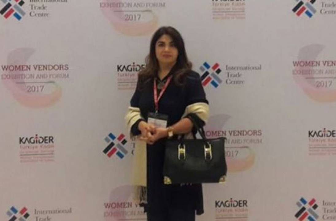 Pakistan Fashion Designer represented at Women Vendors Exhibition and Forum