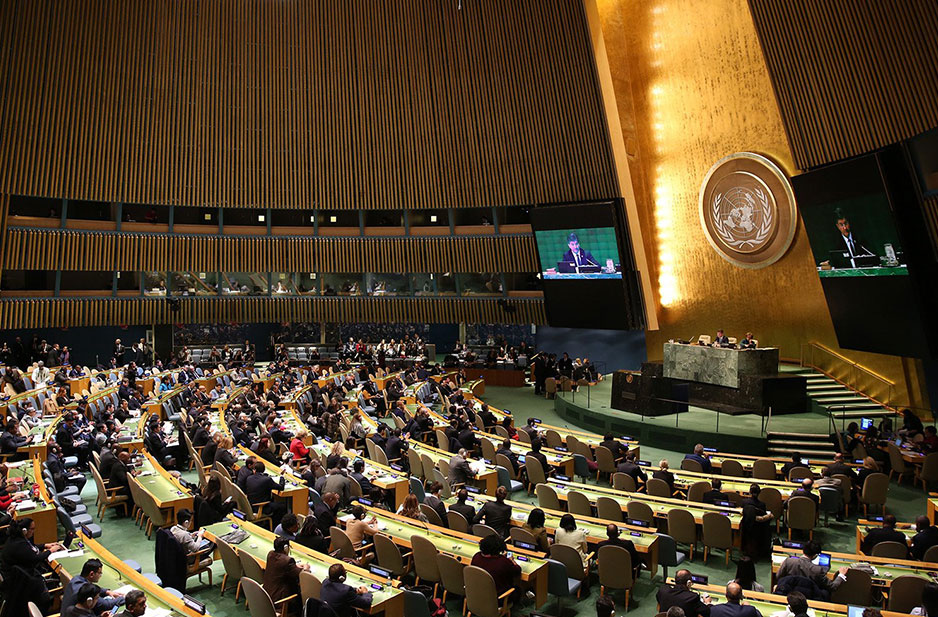 US call for religious freedom at UN General Assembly